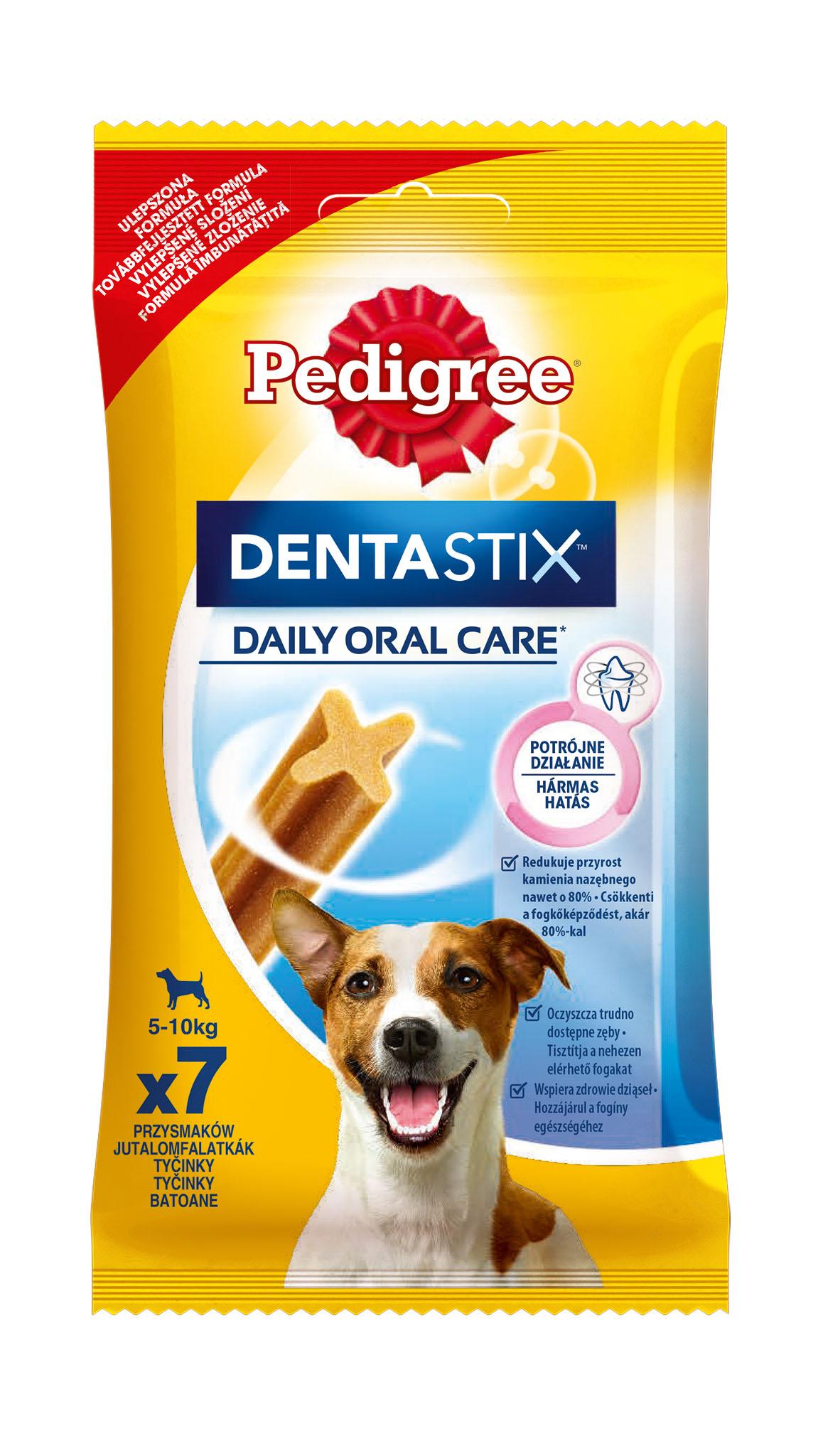 Лакомство для собак Pedigree Denta Stix, палочки, мясо, 110г фото