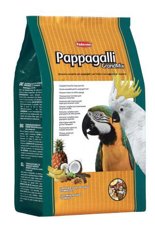 Основной корм Padovan для попугаев 2000 г, 1 шт фото