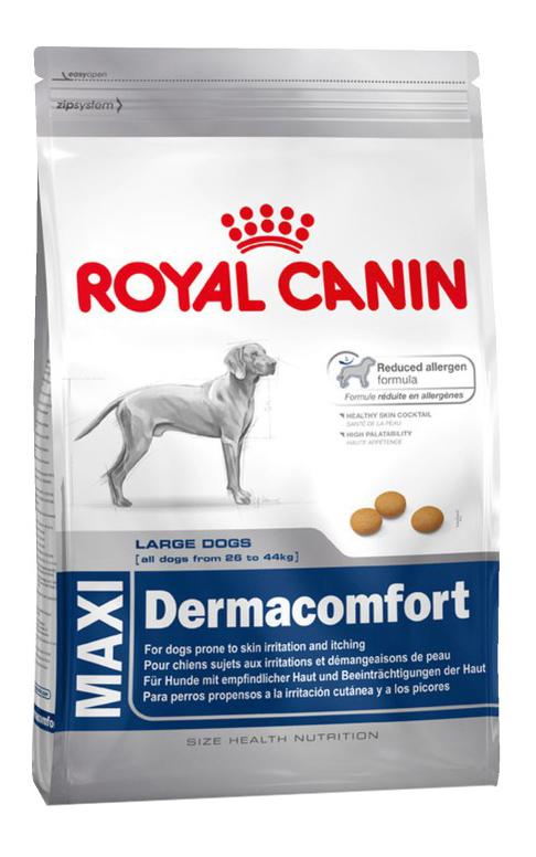 Сухой корм для собак ROYAL CANIN Dermacomfort Maxi Adult, мясо, 3кг