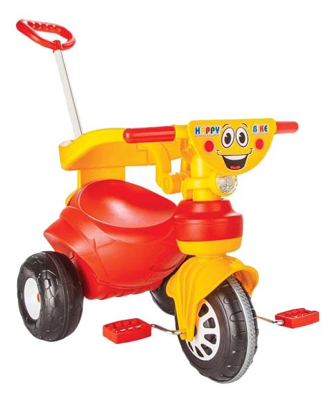 Купить Велосипед Pilsan Happy onesize Happy с ручкой 7165plsn, Детские велосипеды-коляски