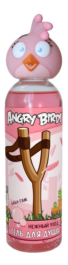 Гель для душа Angry Birds Нежный уход Розовая птица 200 мл