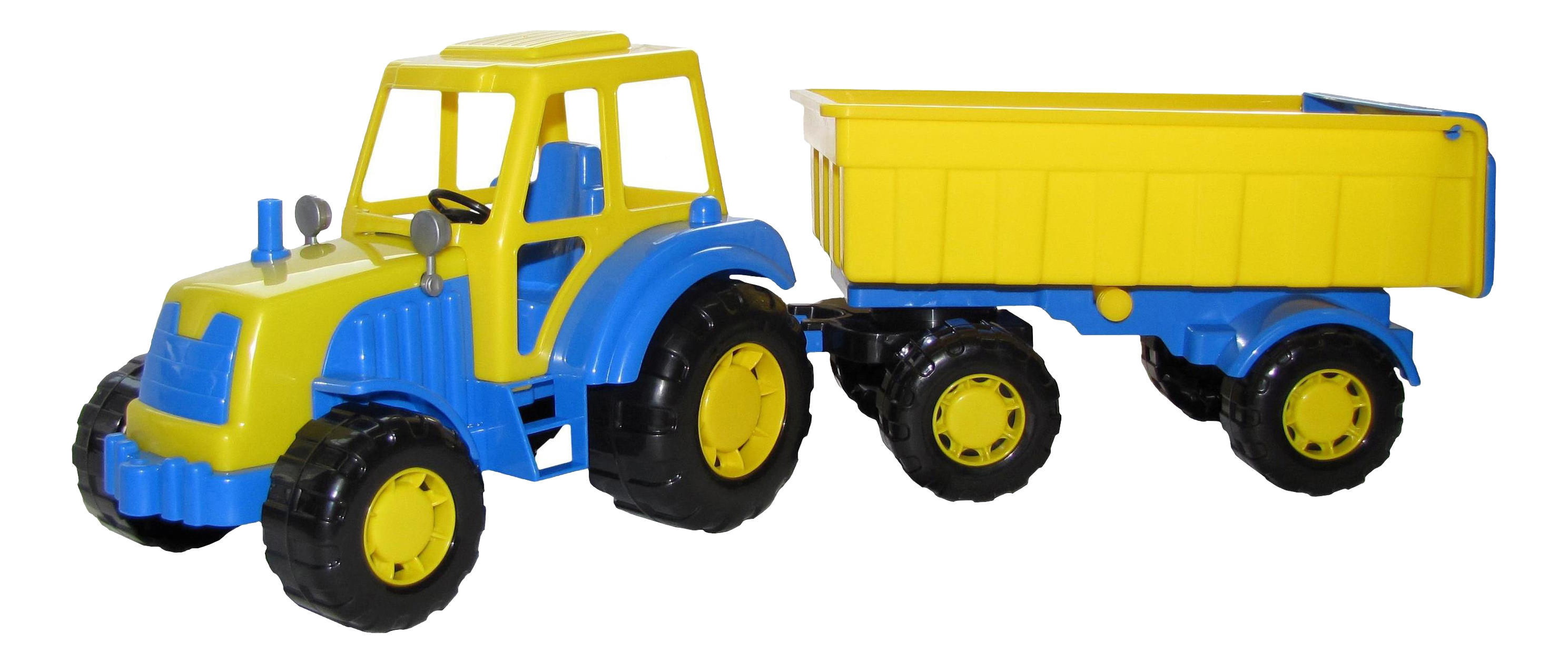 Купить Алтай, трактор с прицепом №1, Трактор с прицепом №1 Полесье Алтай, Строительная техника