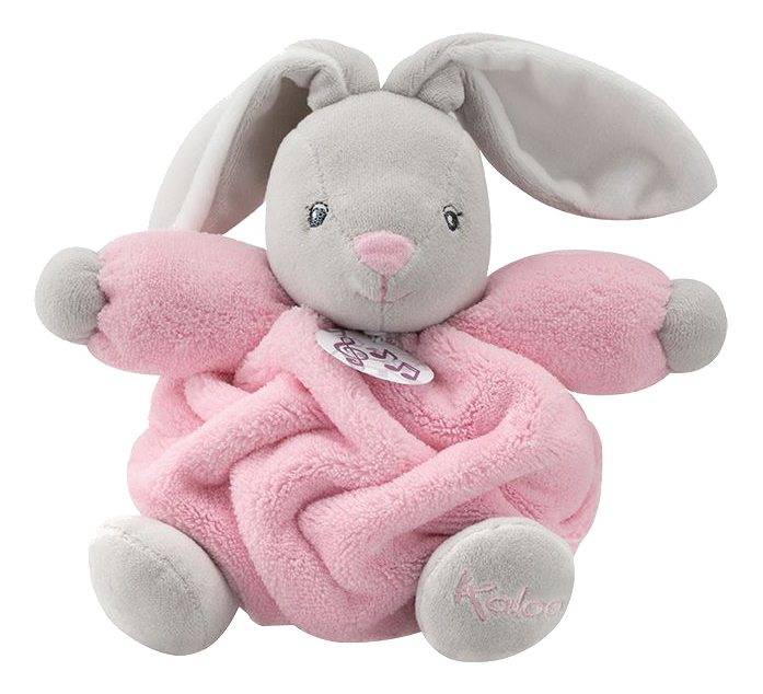 Купить Плюм заяц маленький розовый, Мягкая игрушка Kaloo Плюм - Заяц Маленький Розовый Музыкальный, Мягкие игрушки животные