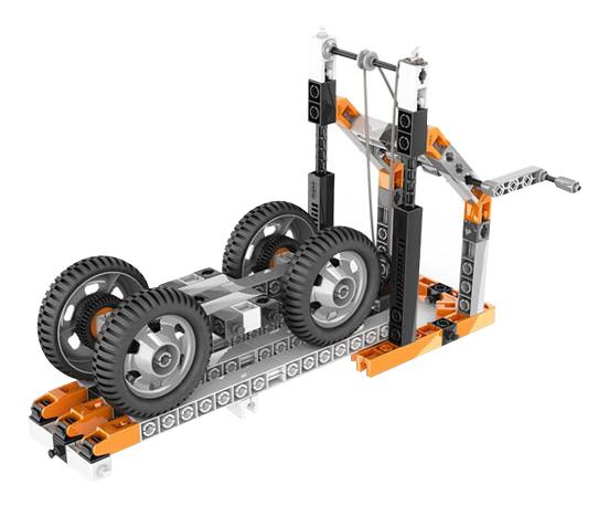 Купить Механика: колеса, оси и наклонные плоскости, Конструктор пластиковый Engino Wheels axles and inclined planes, Конструкторы пластмассовые