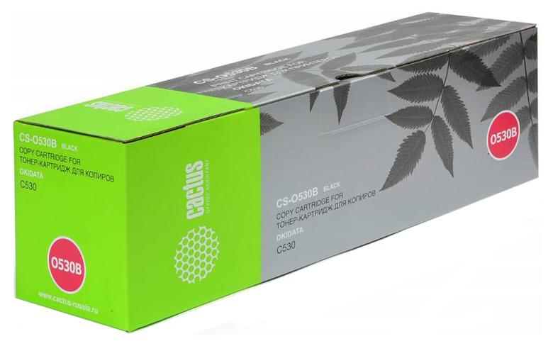 Картридж Cactus CS-O530BK Черный, Картридж лазерный, Тонер-картридж, Повышенная, нет