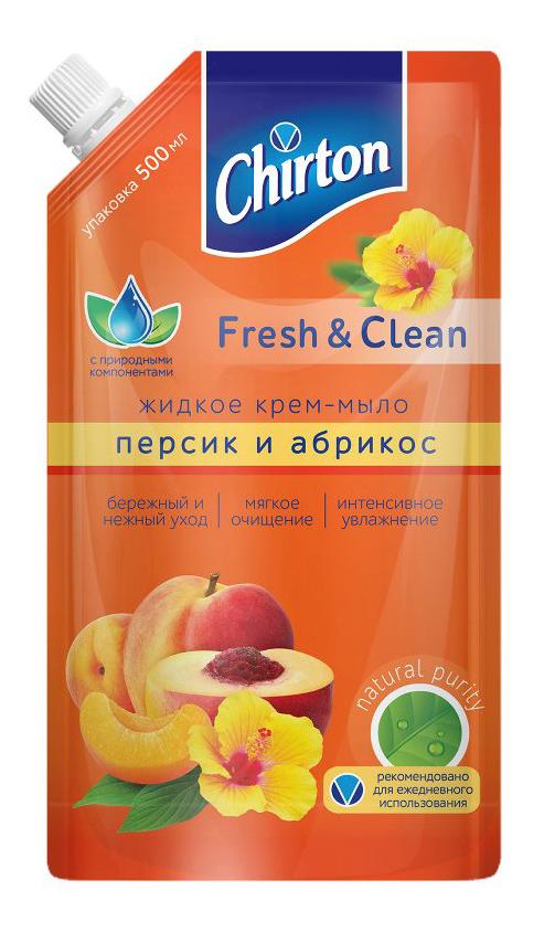Жидкое мыло CHIRTON Персик и абрикос 500мл