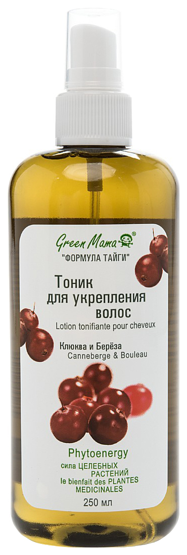 Тоник для волос Green Mama Клюква