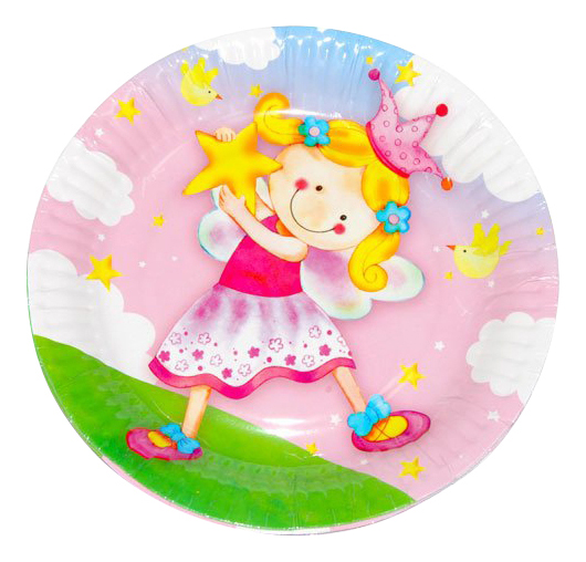 Тарелка детская Веселая затея Звездная фея