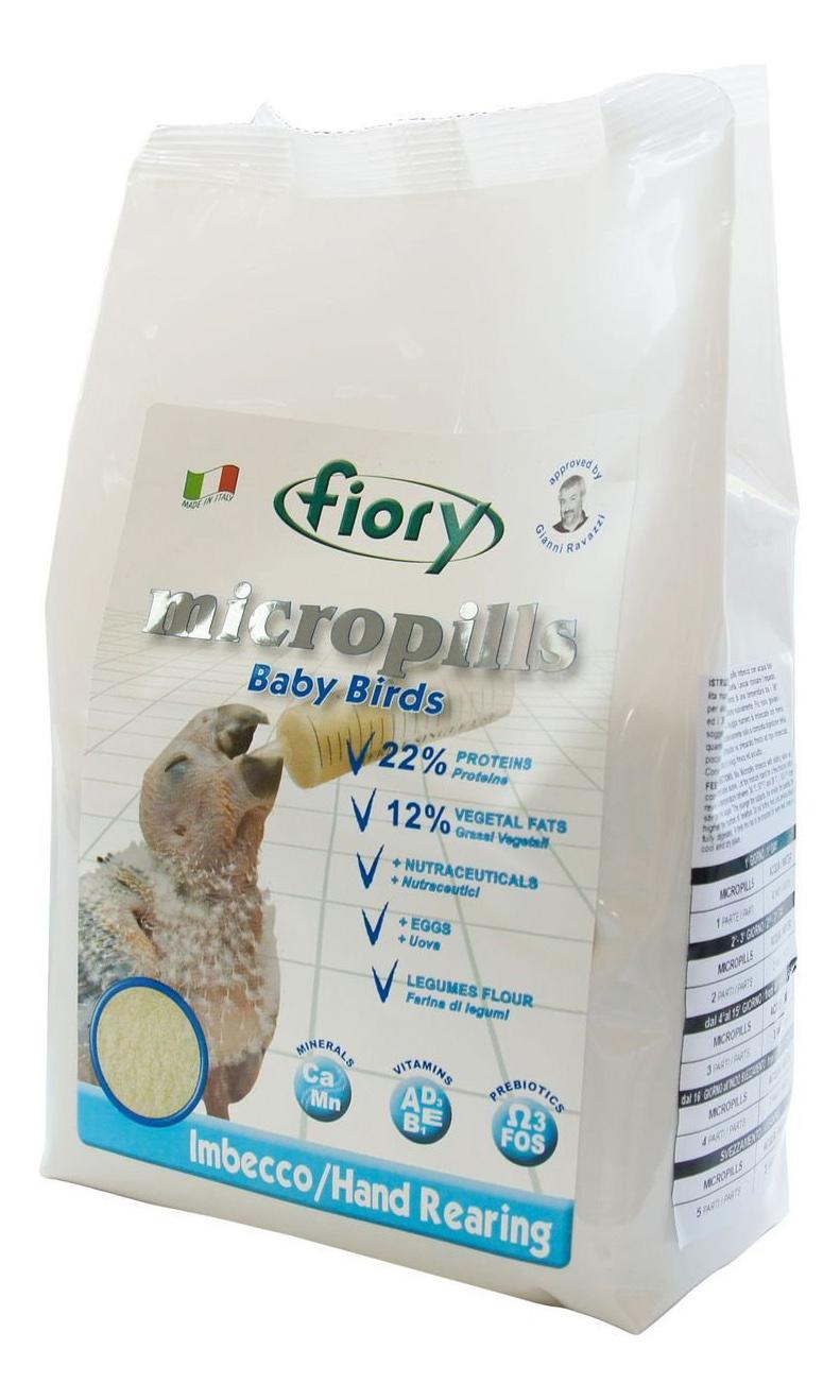 Основной корм FIORY Micropills Baby Birds для экзотических птиц 800 г, 1 шт фото