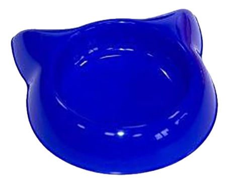 Одинарная миска для кошек Дарэлл, пластик,