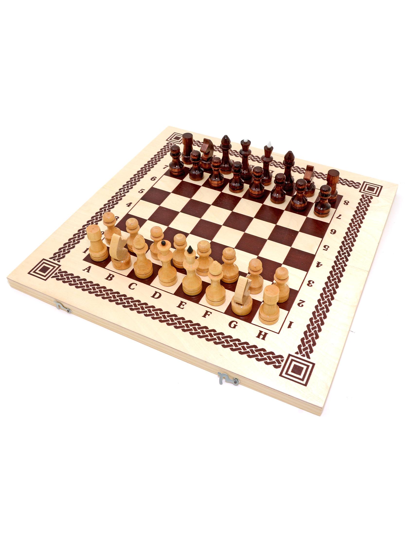 Спортивная настольная игра Орловские шахматы Нарды, шашки, шахматы фото