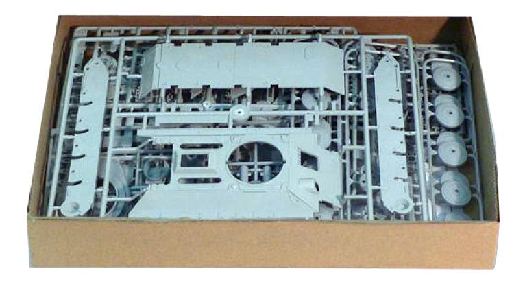 Модели для сборки Моделист Танк Т-34-76