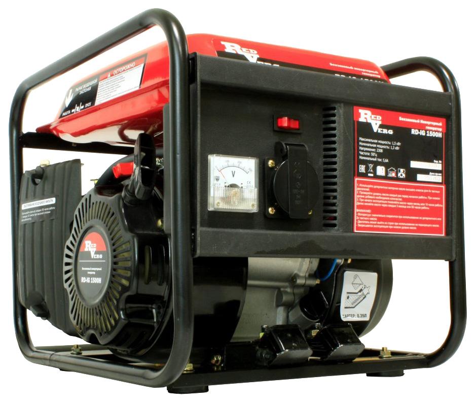 Бензиновый генератор RedVerg RD IG1500H