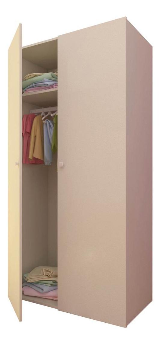Купить Шкаф детский Polini Simple, слоновая кость, Шкафы в детскую комнату