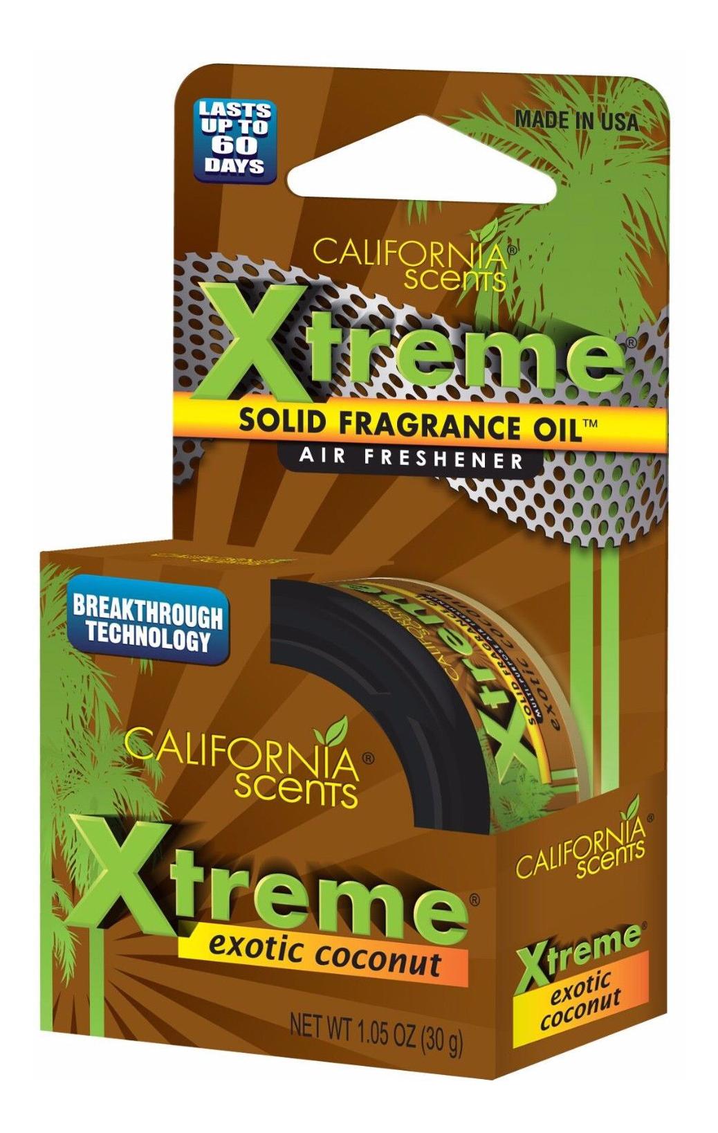 Автомобильный ароматизатор California Scents