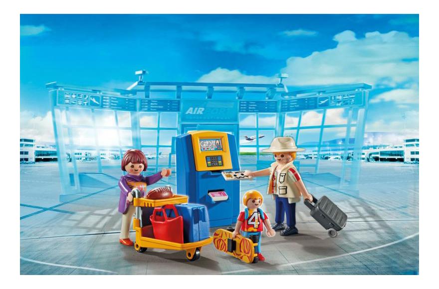 Игровой набор Playmobil PLAYMOBIL Семья на регистрации