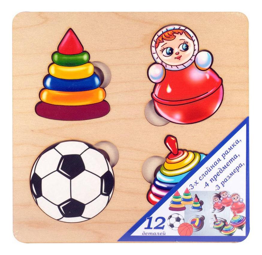 Купить Деревянная игрушка для малышей ТД Бэмби Игрушки, Развивающие игрушки