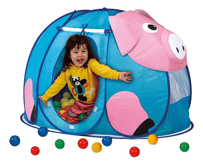 Игровая палатка Calida Поросенок с шариками