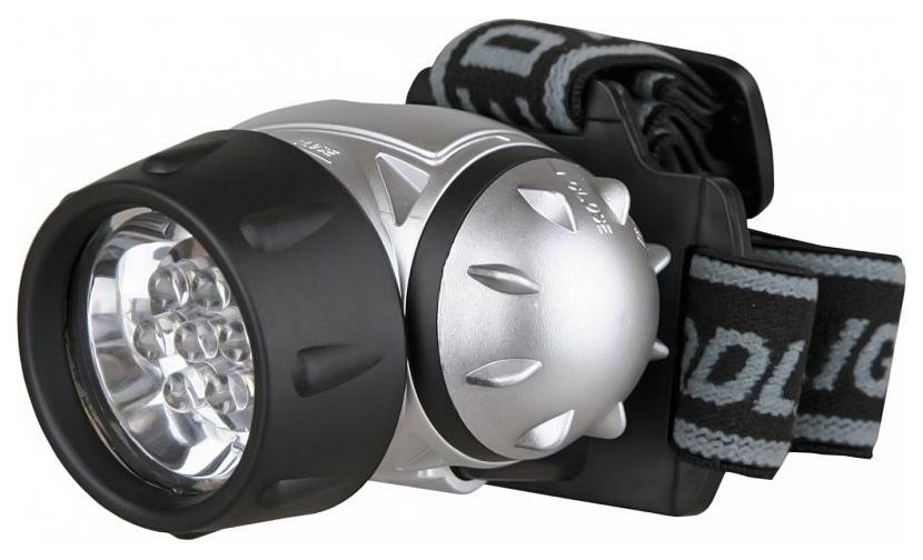 Туристический фонарь Camelion 5351 серебристый, 3 режима