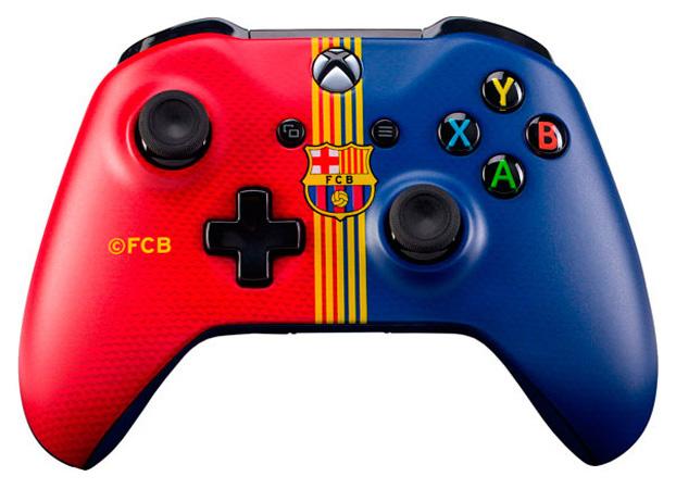 Геймпад Microsoft Xbox One 6CL 00002 Барселона.Клубный