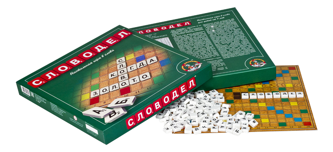 Купить Семейная настольная игра Словодел Тридевятое царство, Семейные настольные игры