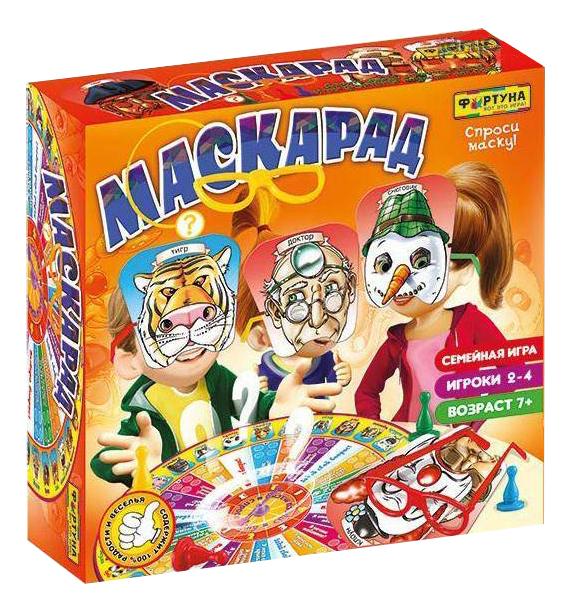 Купить Настольная игра Фортуна Маскарад, Семейные настольные игры