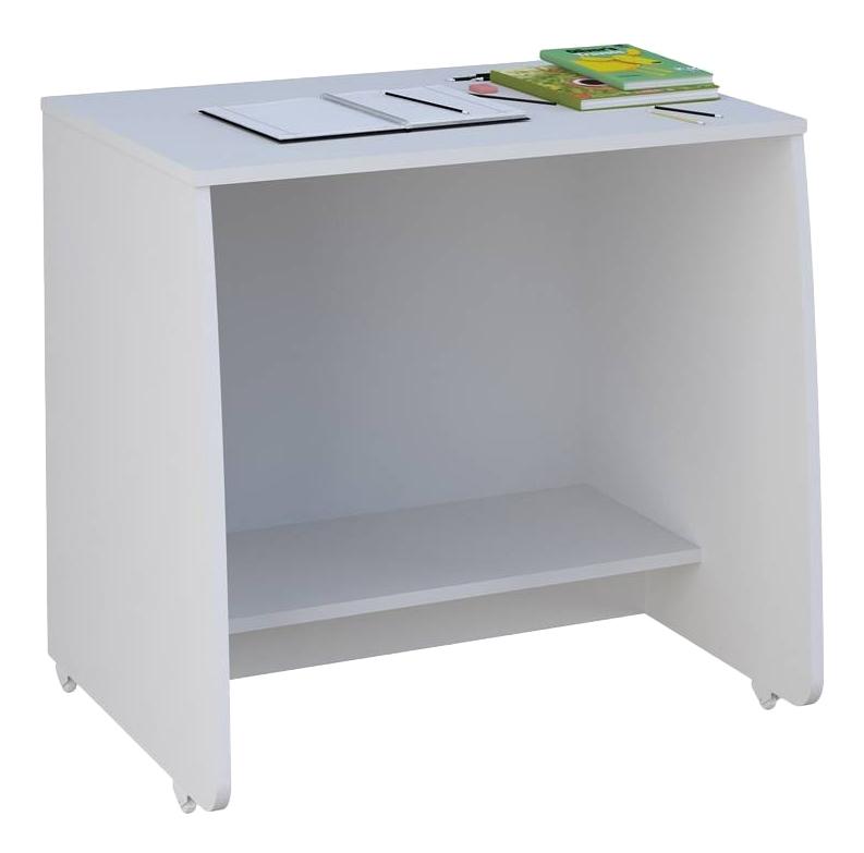 Детский стол для кровати-чердака с выдвижными элементами Polini Simple, белый