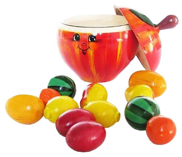 Купить Игрушка Счётный материал в яблоке Русские народные игрушки,
