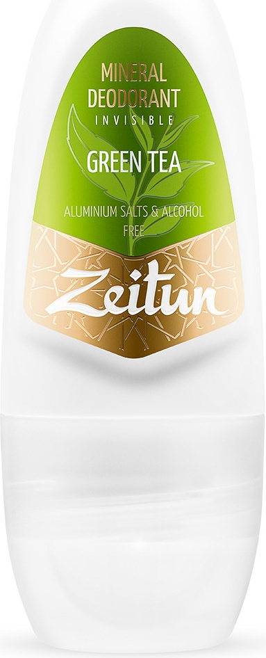 Дезодорант Zeitun Зеленый чай шариковый с коллоидным серебром