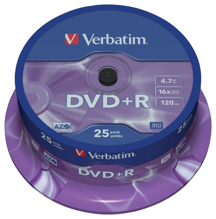 Диск Verbatim DVD R 4,7 GB 16x