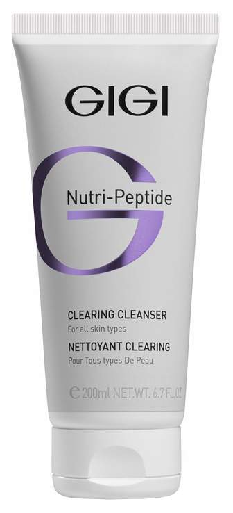 Гель для умывания GIGI Nutri-Peptide Clearing Cleancer 200 мл фото