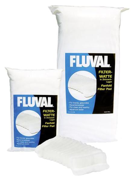 Наполнитель для внешних и внутренних фильтров Fluval Watte, синтепон, 250 г фото