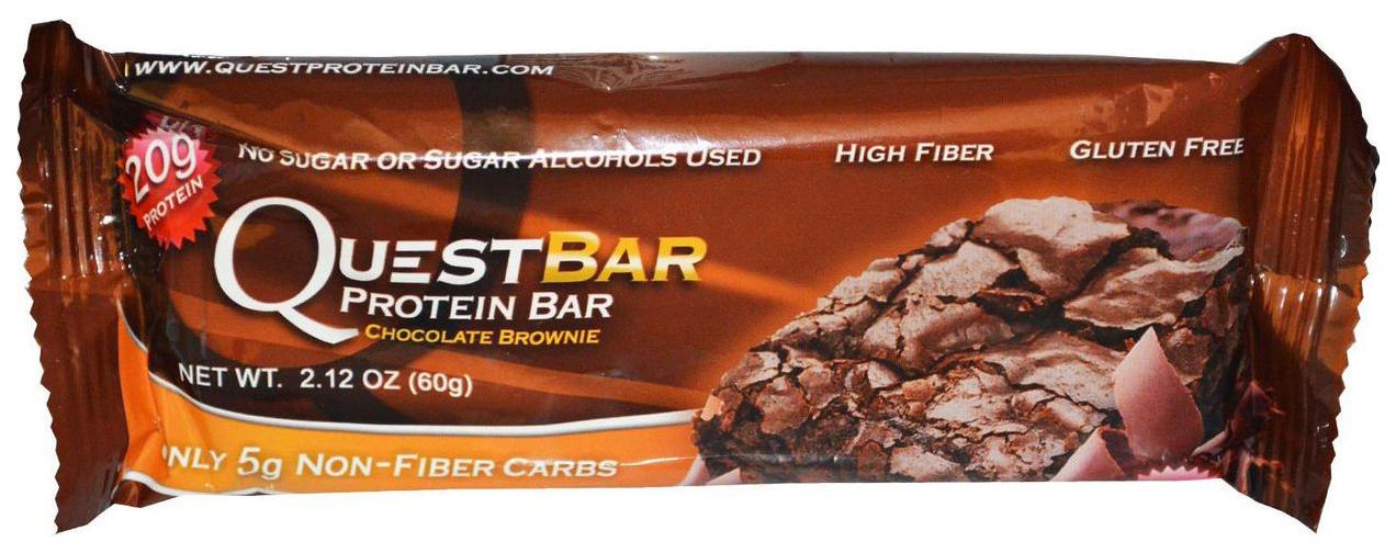 Протеиновый батончик Quest Nutrition QuestBar 60 г шоколадный