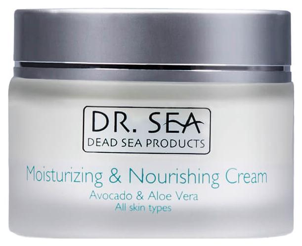 Крем для лица Dr.Sea Moisturizing Nourishing Cream - Avacado #and# Aloe 50мл