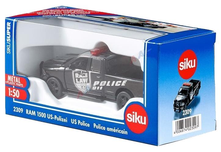 Купить Коллекционная модель Siku Dodge RAM 1500 Полиция США 2309, Коллекционные модели