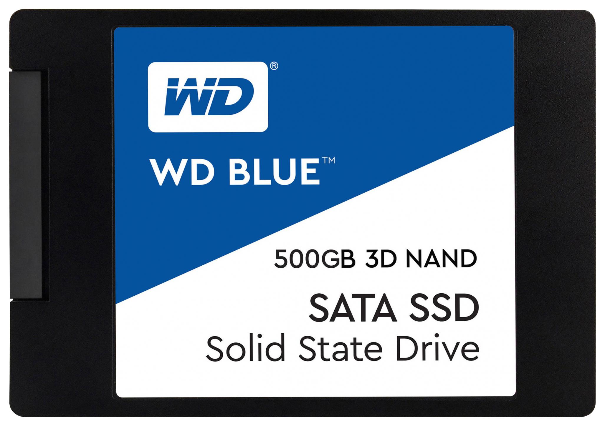 Внутренний SSD накопитель Western Digital 500GB (WDS500G2B0A)