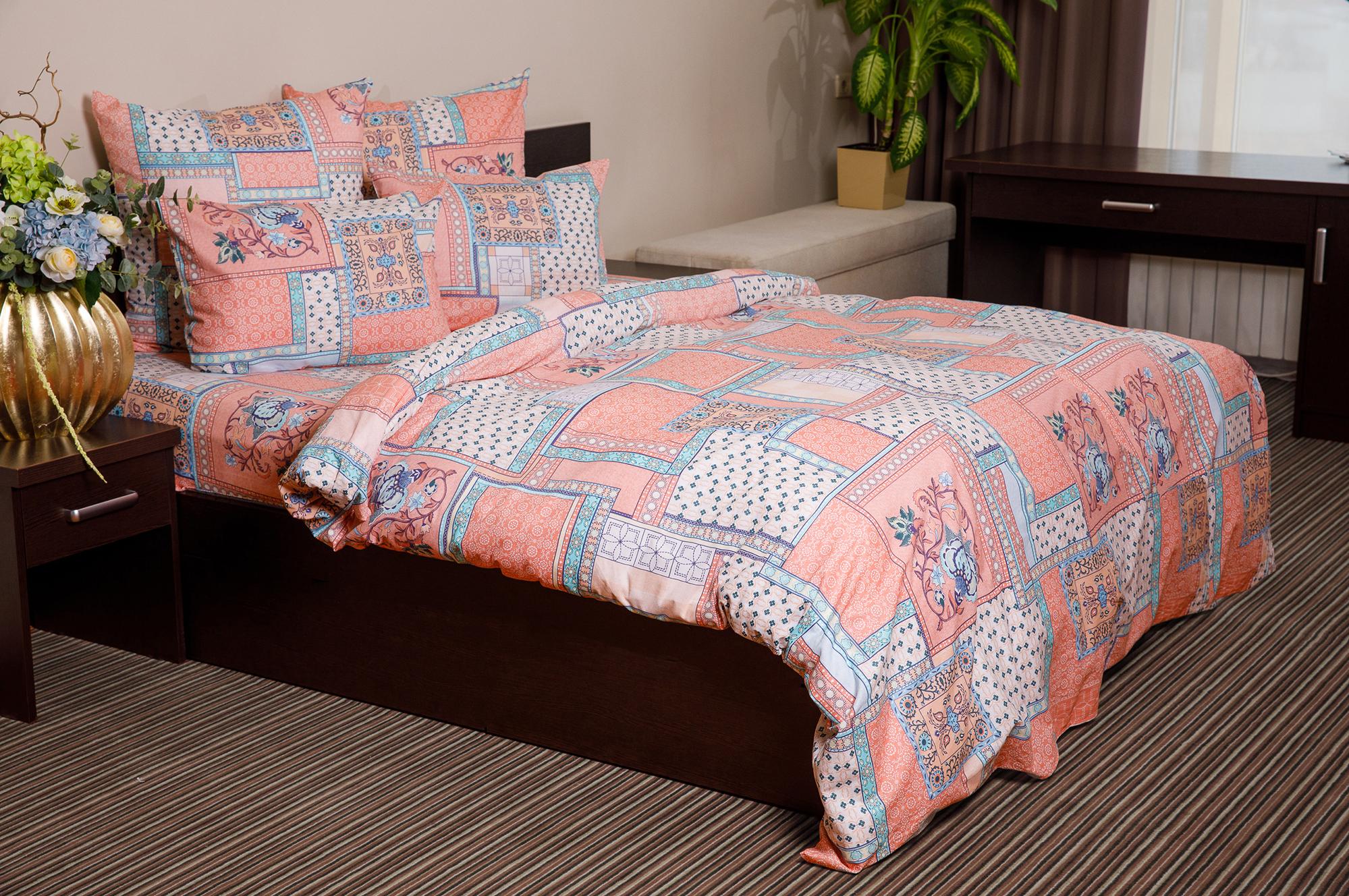 Комплект постельного белья Ночь нежна Alabama Цвет: Розовый (2 спальное евро)