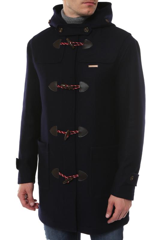 Пальто мужское Love Moschino M J 202 80 T 9606 Y64 синее 48 IT