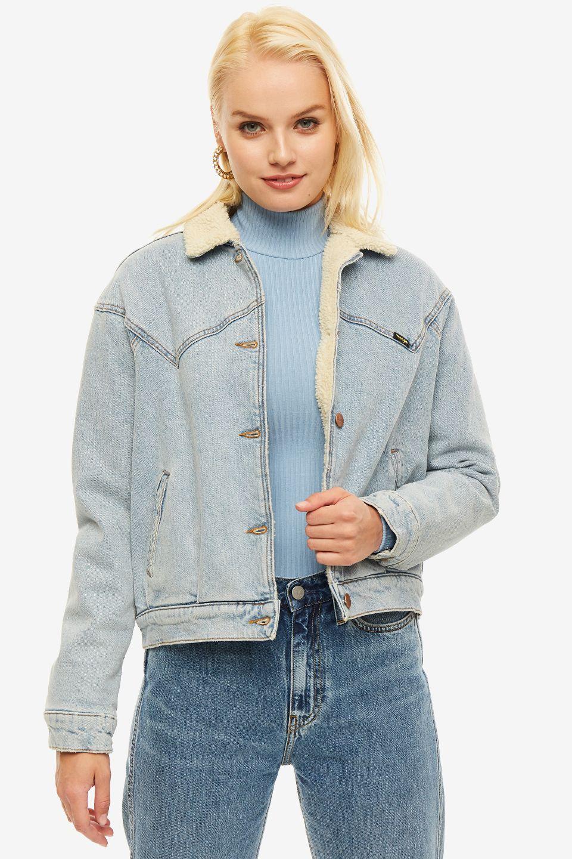 Куртка женская Wrangler синяя