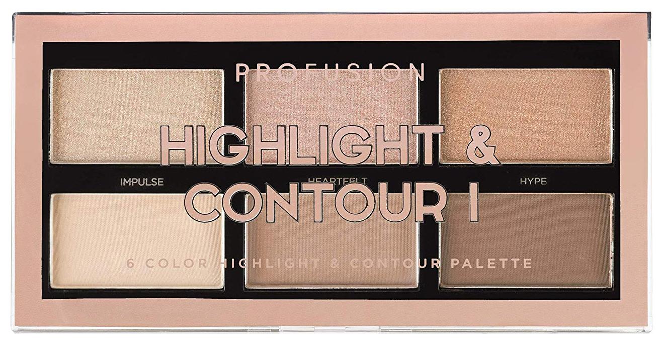 Набор для макияжа PROFUSION Highlight #and# Contour I Palette