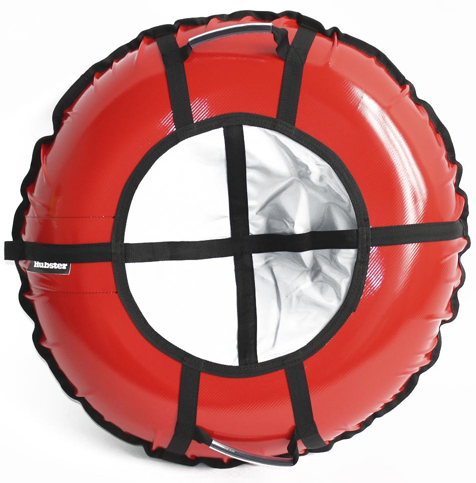 Тюбинг Hubster Ринг Pro красный-серый 105 см