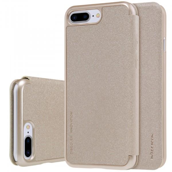 Чехол Nillkin Sparkle Series для Apple iPhone 7 plus / 8 plus Gold