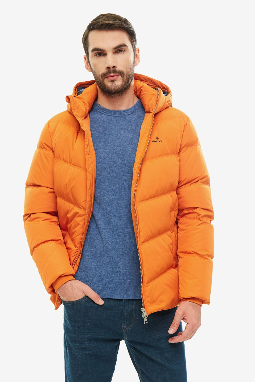 Пуховик мужской GANT 7006017.860 оранжевый M