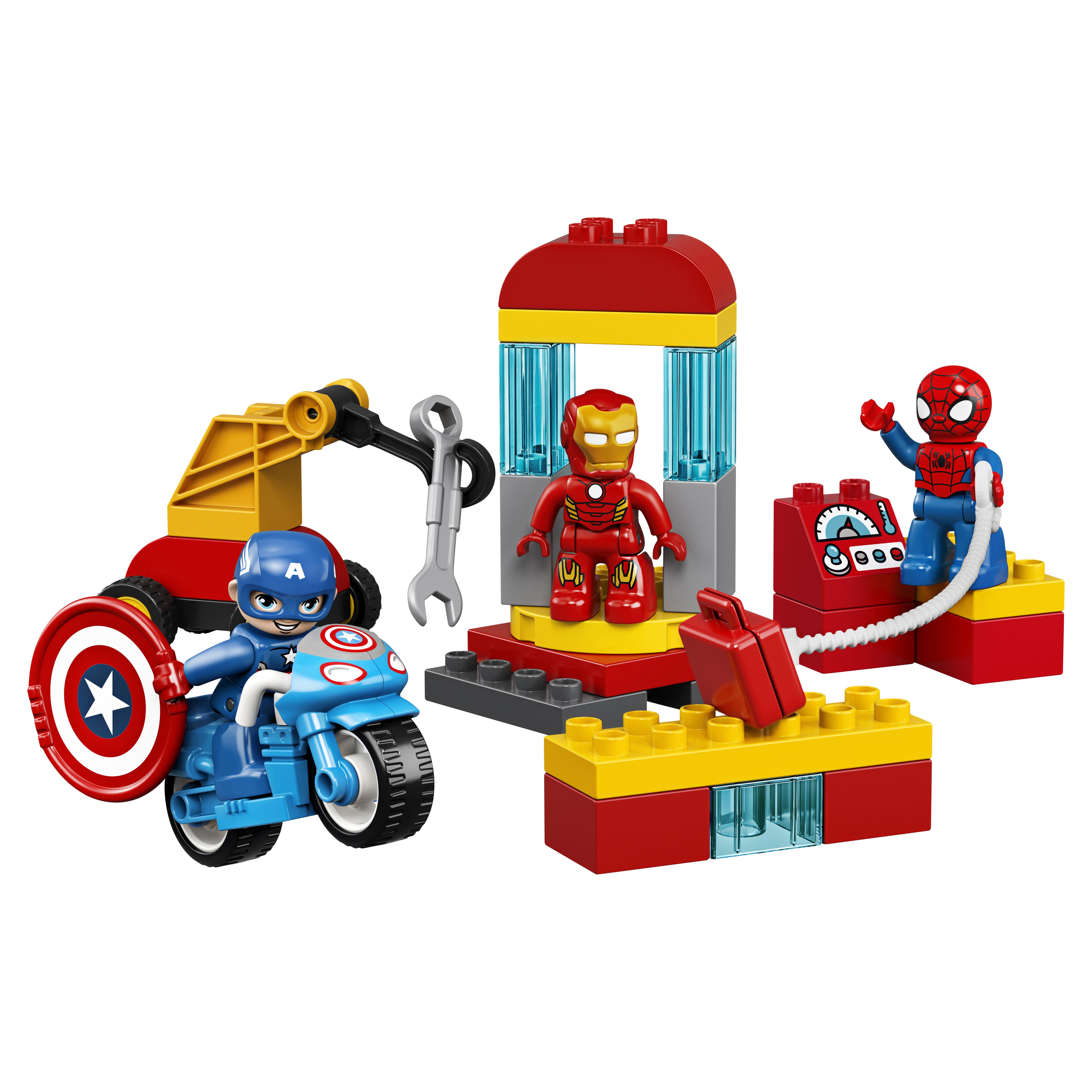 Конструктор LEGO DUPLO Marvel 10921 Лаборатория супергероев
