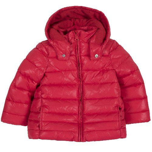 Купить 9087447, Куртка Chicco для девочек р.128 цв.красный,