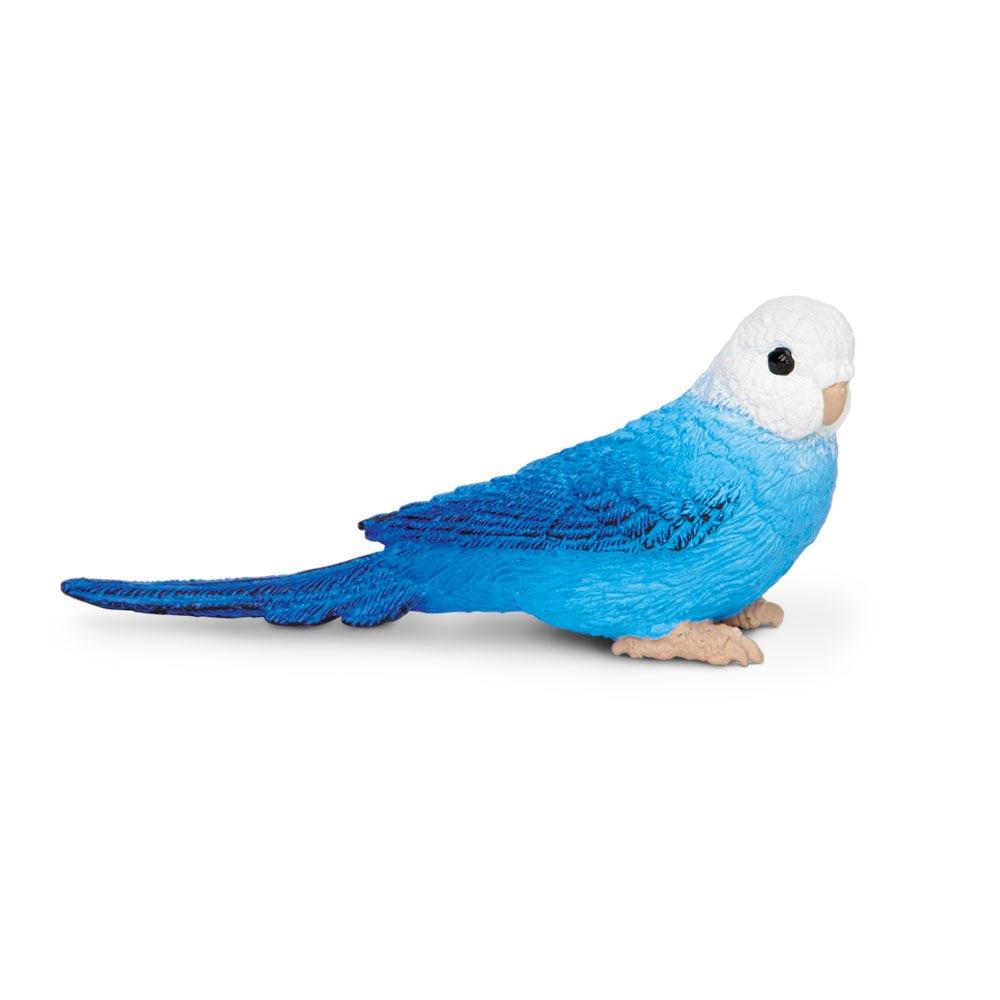Фигурка Safari Ltd Синий волнистый попугайчик