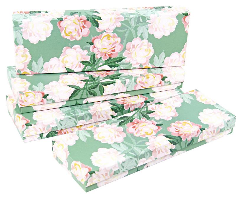 Набор подарочных картонных коробок \
