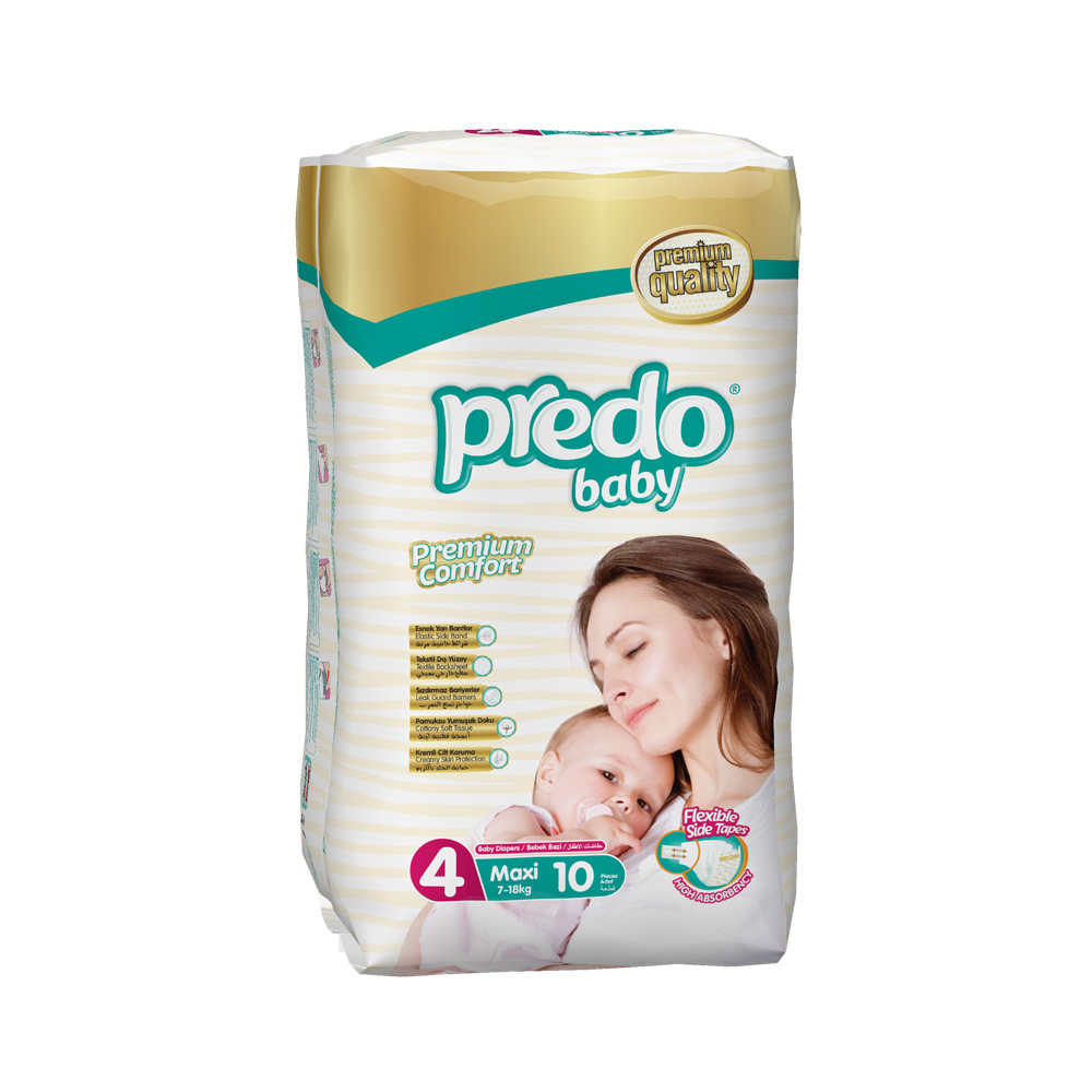 Подгузники Predo Baby Стандартная пачка (10 шт.)