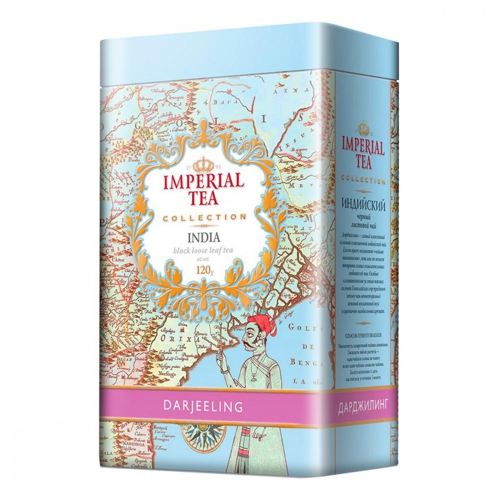 Чай Imperial Tea Collection Дарджилинг черный листовой 120 г