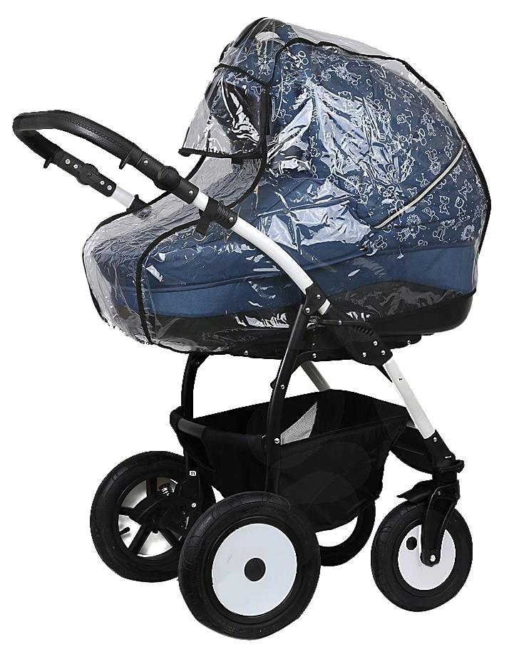 Дождевик для коляски люльки с окошком